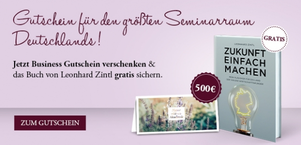 "Gutschein ""Business"" 500 € zum Download"