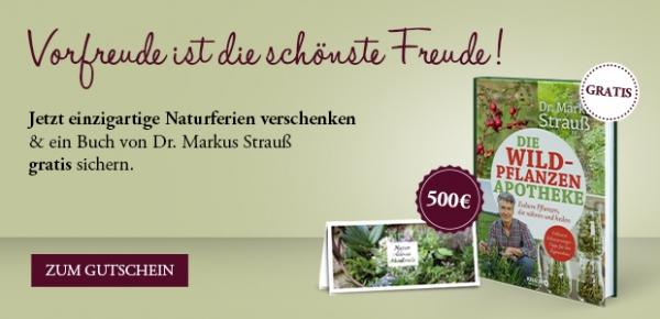 """500-€-Gutschein """"Naturferien"""""""