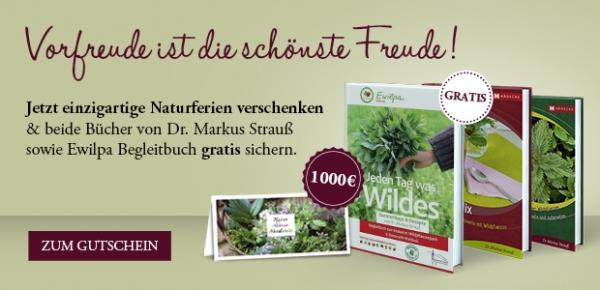 """1000-€-Gutschein """"Naturferien"""""""